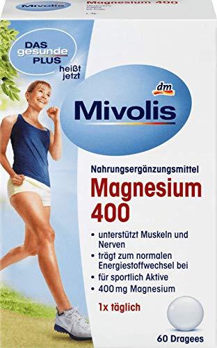 DAS gesunde PLUS Magnesium Dragees 400, 60 St.