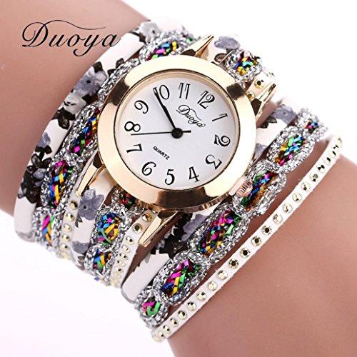 ihee duoya donne lusso fiore popolare orologio
