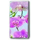 Mouchoirs Helle Orchidée