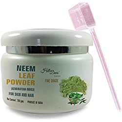 HillDews Neem Leaf Powder (200 gms) With Spoon