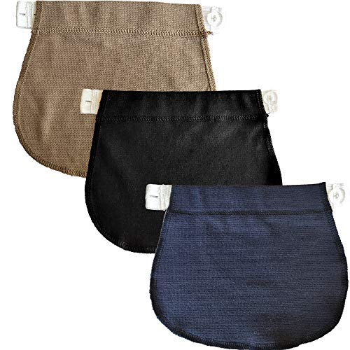 Yi Zhou Pregnant Women Belt Cotton Maternity Pants Buckle Extension Adjustable Comfort Girth