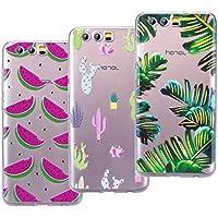 VemMore [3 Packs] Huawei Honor 9 Hülle Handyhülle Schutzhülle Transparent Ultra Slim Dünn, Soft Flexibel Silikon... preisvergleich bei billige-tabletten.eu