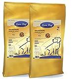 2 x 12,5 kg Lyra Pet Dog Adult Maxi Trockenfutter für ausgewachsene große Hunde