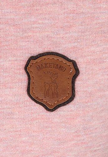 Naketano Female Hoody Schickobello IV Schmutzmuschi Pink Melange
