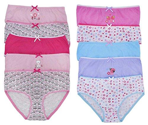 Lora Dora Girls Girls Briefs Underwear (Pack of 5)