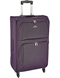 Pronto Camry Polyester 78 cms Purple Softsided Check-In (6468-PP)