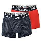 Polo Ralph Lauren Herren Boxer Shorts Trunk 2er Pack - Baumwolle M (Gr. Medium)