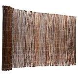 Floordirekt Weidenzaun | 5 Größen | Weidematte | Weidenmatte | Sichtschutz | Dekorative Zäune (90x300 cm)
