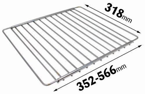 Grille rack étagère four extensible ajustable plaqué chrome universelle compatible avec cuisinières AEG Eletrolux Zanussi