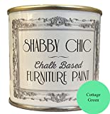 Casa verde tiza a base de pintura de los muebles para crear un estilo shabby chic. 125 ml