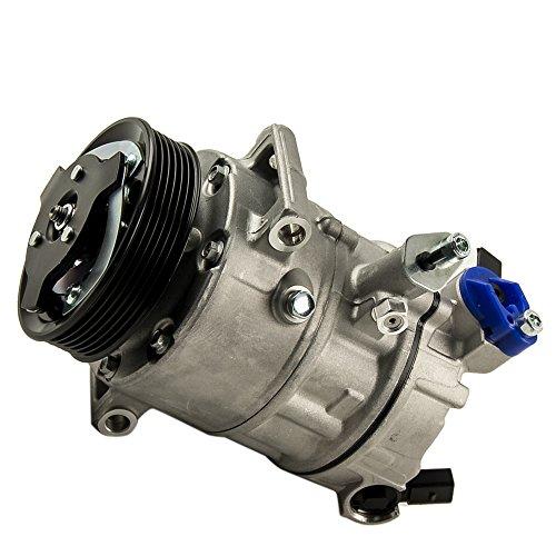 maXpeedingrods Klimakompressor für Golf V GOLF VI CADDY III EOS PASSAT TIGUAN CRAFTER 1K0820803 8FK351316461
