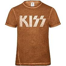 LaMAGLIERIA Camiseta Hombre Vintage Look Linkin Park Cod. Grpr0098 - t-Shirt dnm Plug in Vintage con Estampa Rock zTtcNXbYb