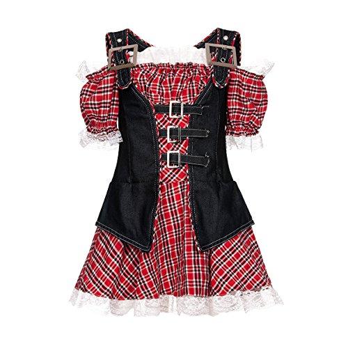Kostümplanet® Cowgirl-Kostüm Mädchen Cowboy Kinder Kostüm Faschingskostüme Größe 104