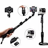 #4: AAAkart, Bluetooth Selfie Stick For Apple, Samsung, HTC, Lenovo, One plus, Motorola, Nexus, Xiaomi Redmi Phones, Coolpad Notes