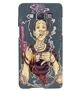 Citydreamz Smoking/Cigarette/Gun/Pistol/Crime/Murder/Boy Hard Polycarbonate Designer Back Case Cover For Samsung Galaxy A8