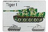 LEotiE SINCE 2004 Puzzle Waffe Panzer Tiger I Bedruckt 120 Teile