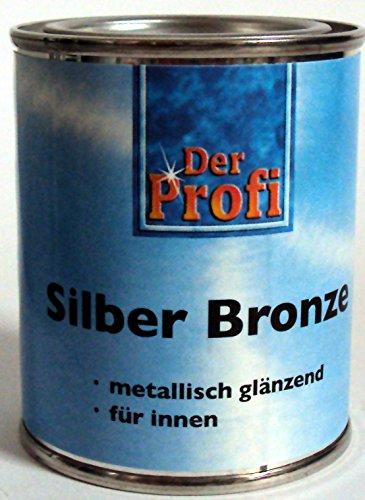 Eckart professionale argento bronzo, metallo lucido/125ml/argento smalto per metallo, plastica e legno/per interni