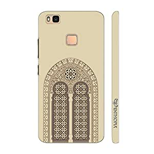 Enthopia Designer Hardshell Case Mosque Door Back Cover for Huawei P9 Lite