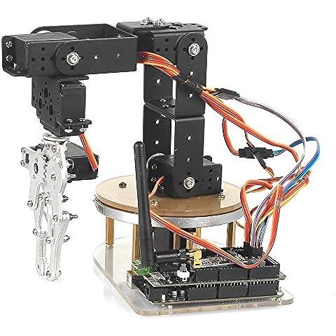 SainSmart Control Palletizing Robot Arm Brazo Robótico Model DIY w/Arduino Controller & Servos DIY