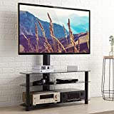RFIVER Supporto TV da Pavimento Girevole Porta TV Stand per Schermi 32 a 65...