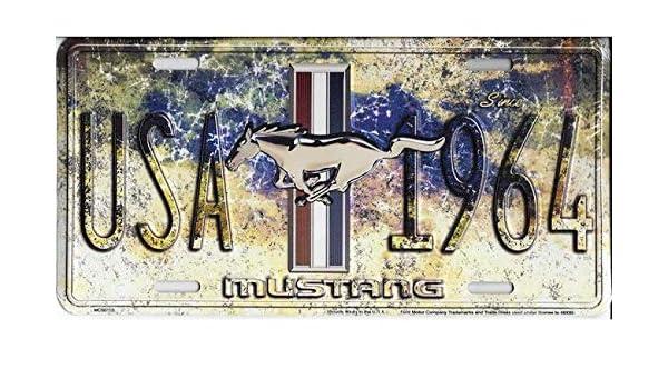HangTime Mustang Year One Metall-Kennzeichen