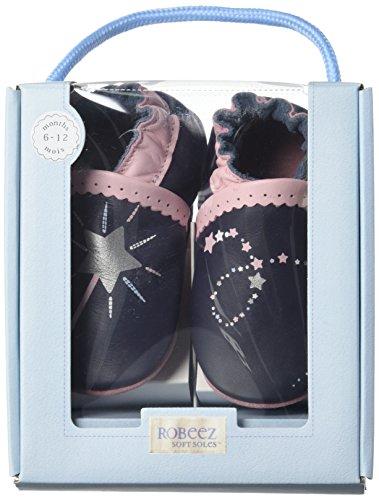 Robeez - Nice Wish, Pantofole Bimbo 0-24 blu (marine)