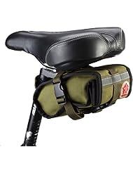 DCCN Sacoche pour Arrière de Vélo Porte-bagages Avec Housse de Pluie Vert Sac de Rangement arrière de Transport Vélo du Siège Sac Résistant à l'eau TRES TRES BONNE Qualité