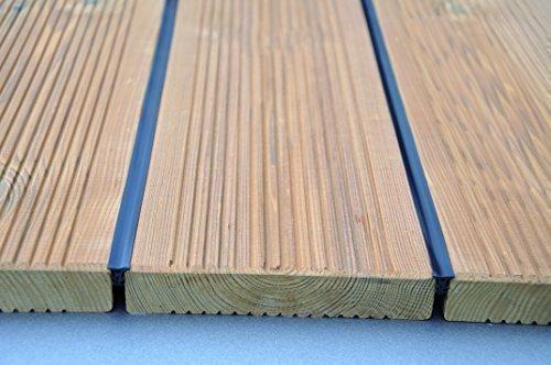 K&R Terrassenfugenband Terraprotect / 50 m / Fugenband für Terrassendielen für Fugenabstand von 5-7 mm / MADE IN GERMANY von Gartenwelt Riegelsberger (6956)