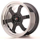 Japan Racing Jr12 Gloss Black 8x16 ET15 4x100/114 Llantas de aleación