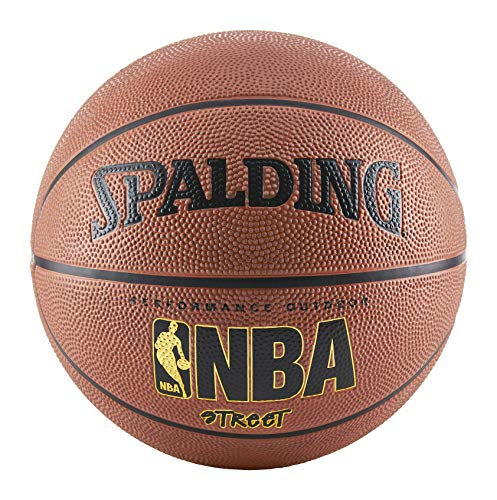 Spalding NBA Street Basketball, Unisex, Jugendliche, SPA-IN63249, Orange, Official Size 7 (29.5
