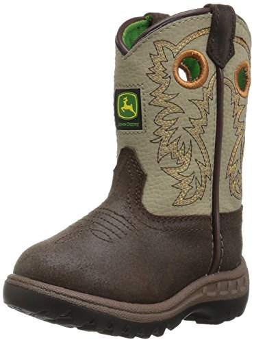 John Deere Kids' Jd1417-1 Western Boot -