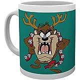 GB eye LTD, Looney Tunes, Taz Christmas Mug, Taza