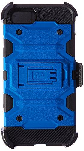 Asmyna Zelle für Apple iPhone 7-Blau/Schwarz - Lg Verizon Wireless