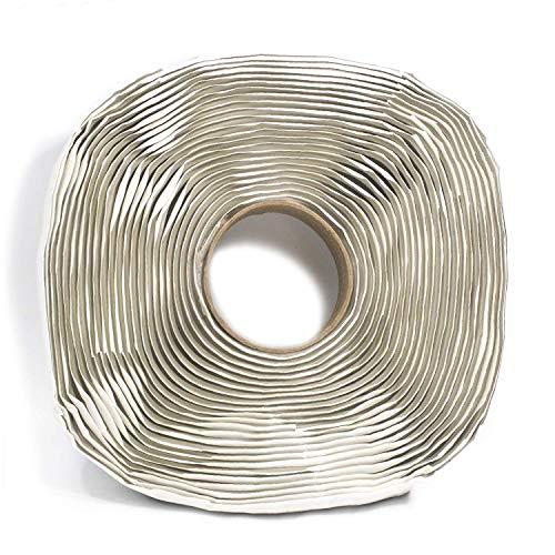 Harbre Butyl Klebeband Extra Lang 3 mm dick x 25 mm Breit x 12 Meter Lang Rolle Premium Qualität Kautschuk Isolierband Dichtungsband