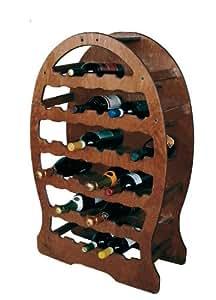 Cantinetta portabottiglie 33 posti vino a botte in legno - Portabottiglie in legno fai da te ...