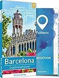 Barcelona Reiseführer: Top 50 Sehenswürdigkeiten und Aktivitäten, Faltkarte, Metroplan - Reiseführer vom Miramar Verlag