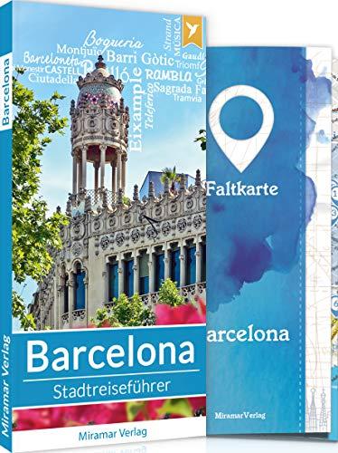 Barcelona Reiseführer - Top 50 Sehenswürdigkeiten & Aktivitäten ausführlich beschrieben für eine individuelle Stadterkundung + Faltkarte und Metroplan | Stadtreiseführer