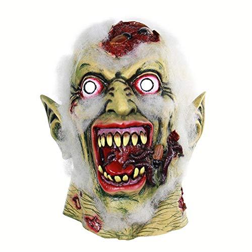 LYLLB-festival items Latex schreit Goblin Maske Kapuze Halloween Party Kostüm Dekorative Maske