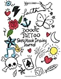 Doodle Tattoo Sketchbook Drawing Journal: 120 Blank Paper Pad for Drawing, Sketching,  Doodling, Painting, Writing and Journaling. Great for Artist, ... Page: Volume 4 (Art Journal Diary Scrapbook)
