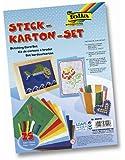 Folia 23419 - Stickkarton - Set, 25-teilig