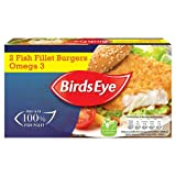 Birds Eye Omega 3 Fish Fillet Burgers, 227g (Frozen)