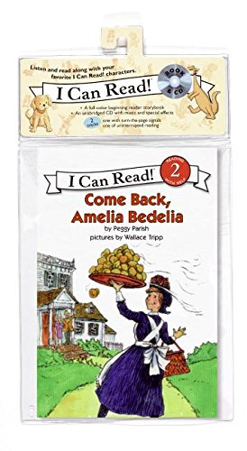 Come Back, Amelia Bedelia Book and CD (I Can Read Books: Level 2)