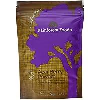 Rainforest Foods Poudre de Baie d'Açaï 125 g Bio