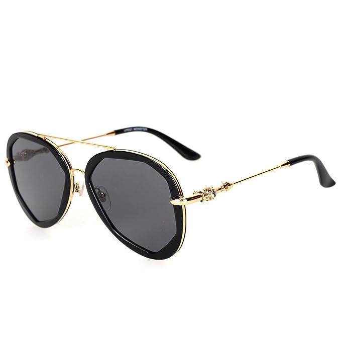 Wkaijc Polygon Farbfilm Mode Individualität Kreativität Mode Freizeit Reflexion Sonnenbrillen Sonnenbrillen ,E