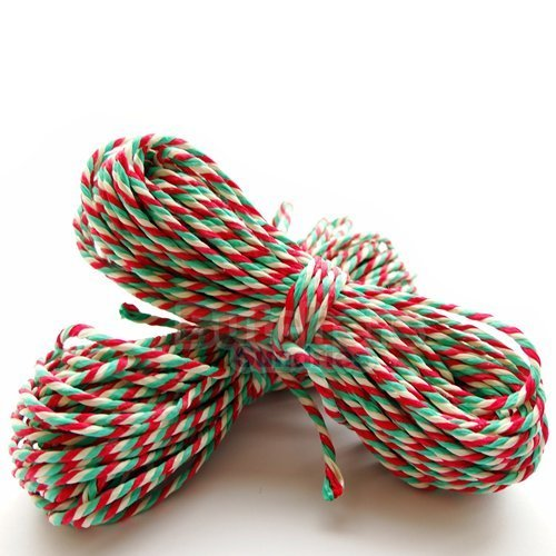 10-metres-of-candy-cane-christmas-red-white-green-craft-bakers-butchers-string-twine-by-butchers-sun