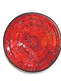 Unbekannt Deko - Schale Glasmosaik Schale rund rot dunkelrot/blau nachtblau pigmente 35cm