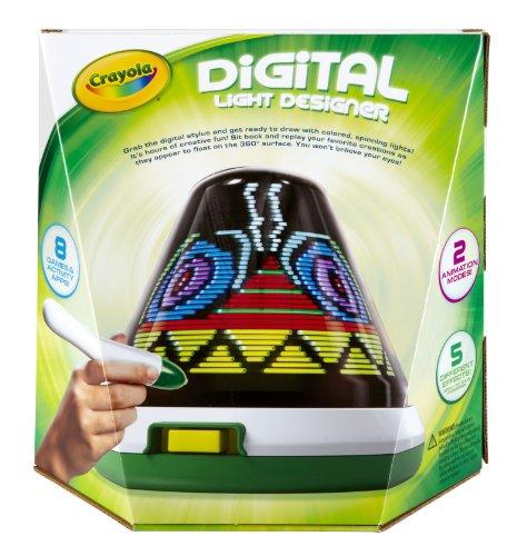 Crayola - Digital Light Designer - Toupie à Dessin Lumineuse