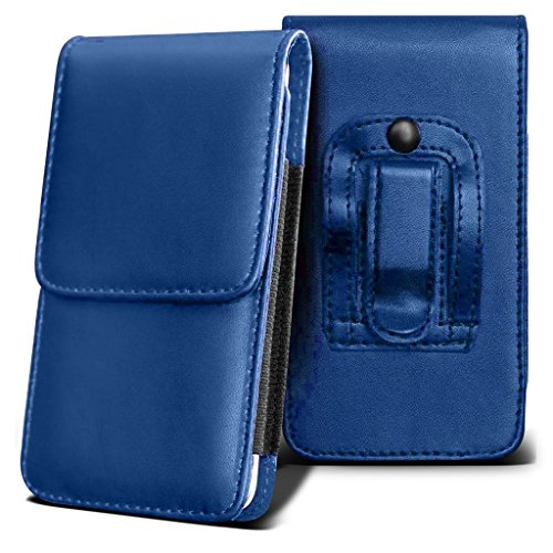 coolpad-rogue-holster-case-blue-universal-vertical-pouch-flip-belt-clip-pu-leather-wallet-case-bag-c