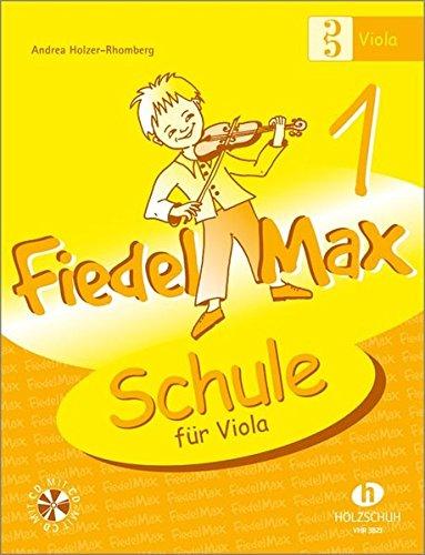 Fiedel Max - Schule für Viola, Band 1, mit CD