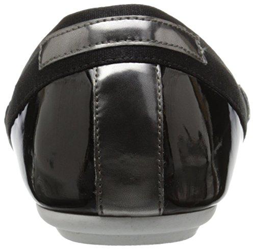 Easy Spirit e360 Yughe étroit Synthétique Ballerines Black